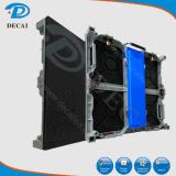Dell'interno lo schermo di visualizzazione locativo di alluminio del LED P4 della pressofusione