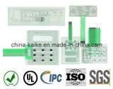 Изготовленный на заказ численное Membrane Keyboard с LCD Window