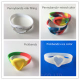Bracelete de borracha feito sob encomenda do silicone do Wristband dos presentes da promoção