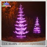 普及した都市景色LEDのクリスマスの中心の屋外の装飾ライト