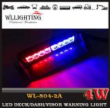 Lumière bleue rouge de Stobe de pare-brise de la police LED