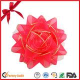 Arco di plastica della stella del nastro di nuovo disegno in testa alle vendite per la decorazione di modo