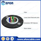 Cable óptico unimodal de la base del miembro de fuerza de FRP 2-24