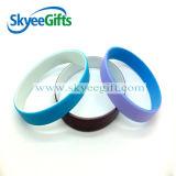 Braccialetto libero del silicone impresso Sameple dell'esportazione