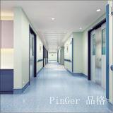 Het Vinyl van het ziekenhuis en de Wacht van de Hoek van de Muur van het Aluminium