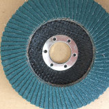 Disco de pulido de la solapa del óxido de circonio del metal