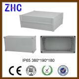 O trilho IP65 do RUÍDO 340*280*130 Waterproof a caixa de junção eletrônica plástica