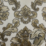 Damast Designer Deep Embossed Wallpaper für Home