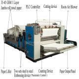 Het volledige Automatische Document dat van de Handdoek van de Vouwen van V Machine maakt