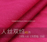 15mm Viscose Crepe De Китай Fabric