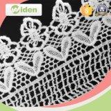 laço químico da fantasia da tela bordada do laço da flor 3D para a decoração