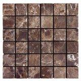 Mattonelle di marmo scure di Emperador 2X2