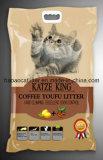 Kaffee Tofu Cat Litter mit Clumping und Easy Clean