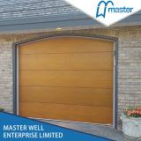 PUによって絶縁されるガレージのドアが付いている電流を通された鋼鉄、40mmの厚さの部門別のガレージのドア、自動圧延のガレージのドア