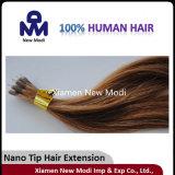 Extensão Nano conveniente do cabelo humano da ponta