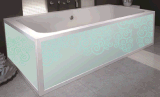 Vasca da bagno di superficie solida di grande capienza