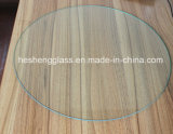 4mm Round Plain Tempered Glass pour Table Surface
