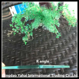 4mm R-Angle Polished Edge Clear Float Glass