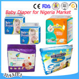 Супер мягкий Breathable имеющиеся OEM пеленок младенца и различные пакеты