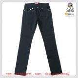 Pantalones del tipo de tela de algodón de las mujeres calientes de la venta del nuevo diseño de la manera