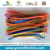 La variedad colorea alrededor de lazo suave de la etiqueta de la caída del producto promocional de la correa