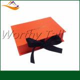 Rectángulos de regalo elegantes de la manera de encargo con la tapa magnética