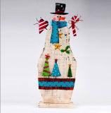 Decoração nova do Natal do ornamento do boneco de neve do metal do estilo de Migodesigns