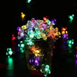 Luz do diodo emissor de luz da forma da flor da decoração da árvore de Natal do preço de fábrica