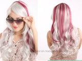 Parrucca sintetica calda dei capelli dei capelli ricci delle parrucche del Anime di Cosplay di vendite