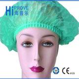 처분할 수 있는 Nonwoven Surgical Bouffant Cap 또는 Clip Cap/Doctor Cap/Mop Cap