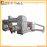 Máquina de fabricación de ladrillo del estirador del vacío del ladrillo del suelo de la planta del horno de túnel del ladrillo de la arcilla