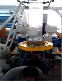 Máquina que sopla de la película rotatoria vertical de la tracción del ABA