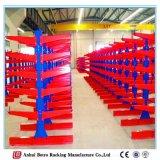 Het Rekken van de Cantilever van de Fabriek van de Installatie van de Werken van China Nanjing de Enige Opgeruimde Rekken van de Cantilever
