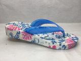 Flops Flip мягкого и толщиного лета подошвы PVC/Pcu голубые (24ML1705)