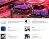 Дешевая высокая эффективность цены 4 ватта к Multi поликристаллическому цене фотоэлемента 4.38W для солнечных фотоэлементов Panels/PV для сбывания