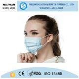 Positiver Luftdruck-Winter 3 Falte Earloop Gesichtsmaske-Respirator