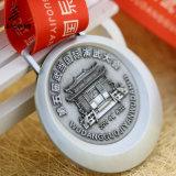 Медали Antique выбитые серебром 3D изготовленный на заказ Kungfu поставкы Jiabo