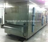 Congelador rápido individual da máquina do congelador IQF do túnel da correia da placa