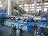 Máquina de agua-anillo cortador Tipo de una etapa de residuos PE / PP Película de plástico Reciclaje