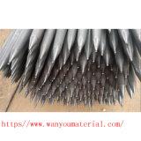 Parafuso de aço galvanizado do competidor da escora à terra de MERGULHO quente
