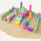 Formazione che modella la sabbia dello spazio æreo della cancelleria di movimento