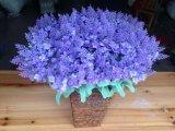 Fleurs artificielles de violette 35cm