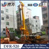 Máquina del conductor de pila de hoja Dfr-315