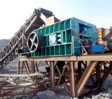 Doppelter Rollen-Andesit-Steinzerkleinerungsmaschine für Verkauf