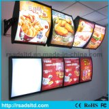 Double Side Fast food Conseil LED Menu
