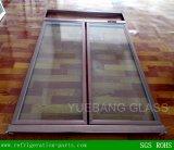 Portello di vetro del congelatore dritto con il blocco per grafici di alluminio