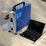 Máquina da marcação do laser do CO2 da câmara de ar 20W do laser do RF para o plástico, caixa do carbono, cartão do CI