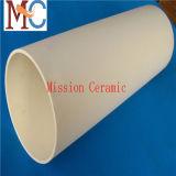 99.7% Tubo de cerámica del alúmina de la resistencia a la corrosión