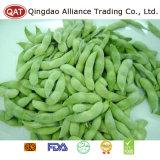 Feijões de soja congelados IQF com qualidade superior