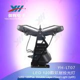 Il nuovo indicatore luminoso RGBW di colore della città di IP65 120PCS 10W LED impermeabilizza l'indicatore luminoso esterno della città del LED